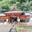 蒲生八幡神社拝殿全景