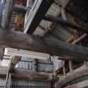 作業場小屋組み