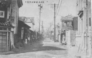 加治木町蒲生田通り