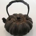 かぼちゃ型鉄瓶