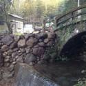 岩剣神社石橋神社護岸修復