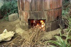 20:窯焚き