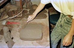 4:粘土板を用意する